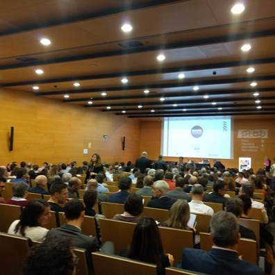 Costaisa attends the presentation of the 12th edition of the Trends Map, organized every year by the Fundació TIC Salut Social