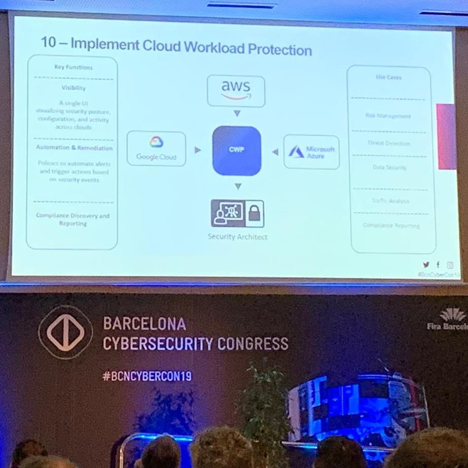 Ponencia en Barcelona Cybersecurity Congress