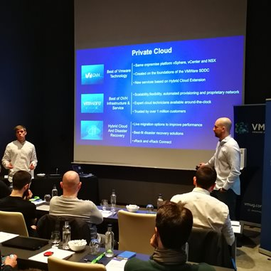 Costaisa attends a technical conference on private cloud given by OVH and VMUG Barcelona