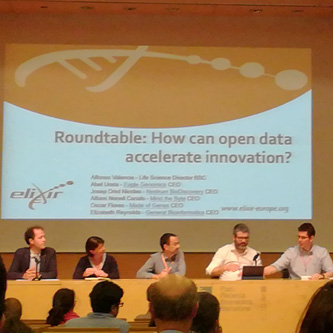 Costaisa participa en el ELIXIR Innovation and SME Forum sobre bioinformática y open data