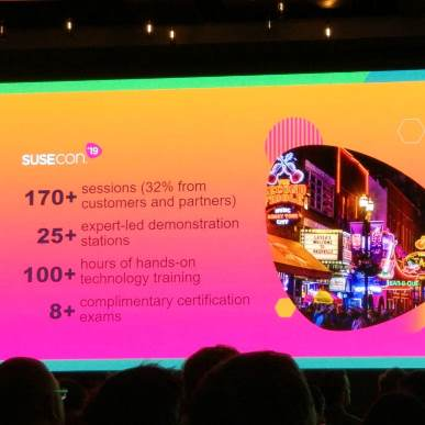 Susecon brings together the business Linux professional community in Tennessee