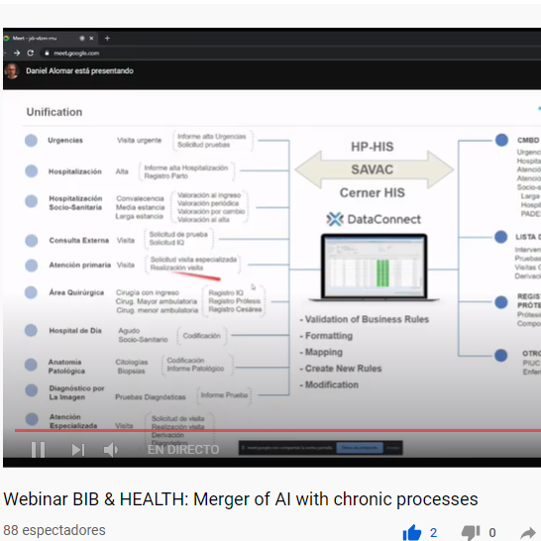 AI and chronicity merge in the first online webinar organized by Bioinformatics Barcelona