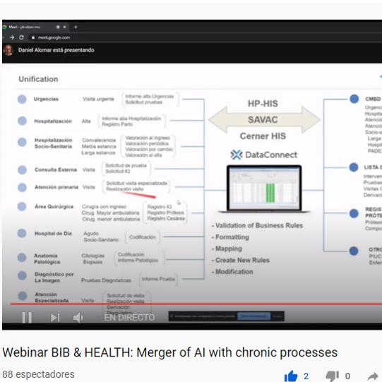 La IA i la cronicitat es fusionen en el primer webinar online que organitza Bioinformatics Barcelona